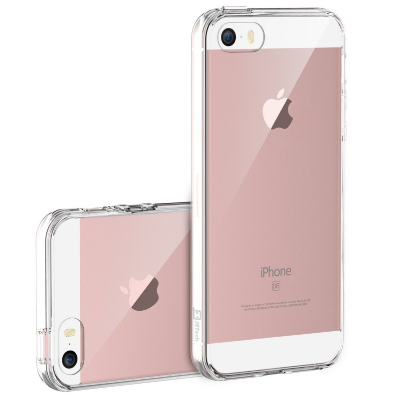 Silicone Clear Back Case for iPhone 5, 5s, SE | IE-CC194 | IENDS Technology  Iphone