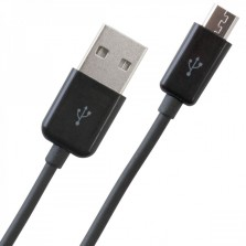 Micro USB Cable 2 Meter Black