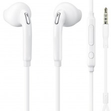 In-Ear Headset, White