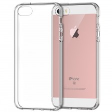 Silicone Clear Back Case for iPhone 5, 5s, SE