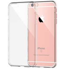 Silicone Clear Back Case for iPhone 6/6s