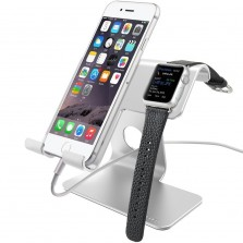 Smartphone Holder Cradle with iwatch stand