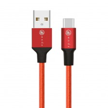 Nylon Braided Type C Fast Charger Cable (1meter)