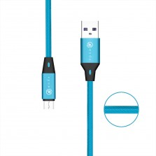iends Quick Charge Micro USB Cable Blue 1 Meter