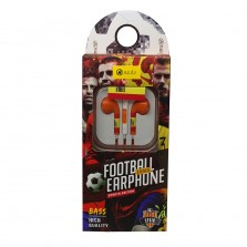 World Cup Edition 3.5mm Wired Earphone Universal Stereo Headset