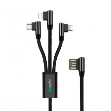3in1 L Shape Cable