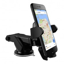 Car Dashboard Phone Holder with Sticky Gel Stand
