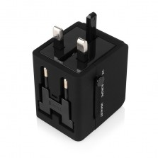 Worldwide 3 USB Travel AC Power Adapter