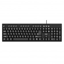 USB Wired Keyboard With Comfortable & Quiet Typing Experience