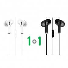 1 + 1 Stereo Earphone